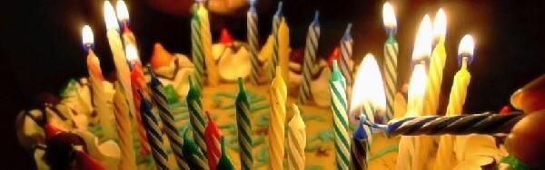 Enviar uma frase de aniversário para um neto.