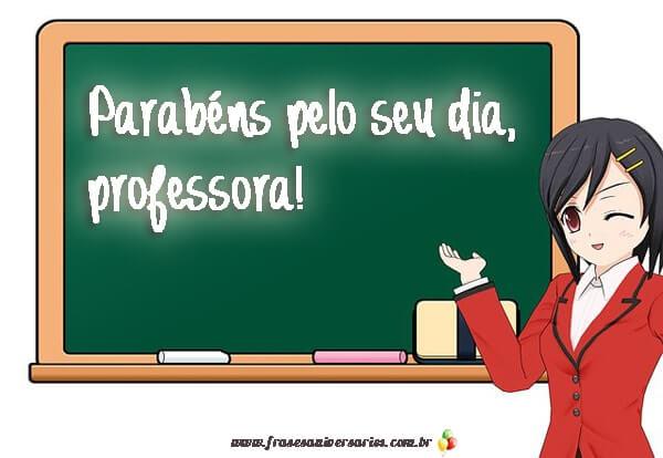 Dia da professora