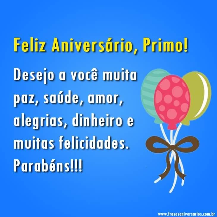 Feliz Aniversário, Primo