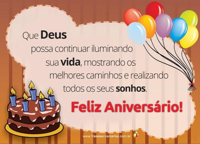Suficiente Frases de Aniversário - Frases de Feliz Aniversário TZ43