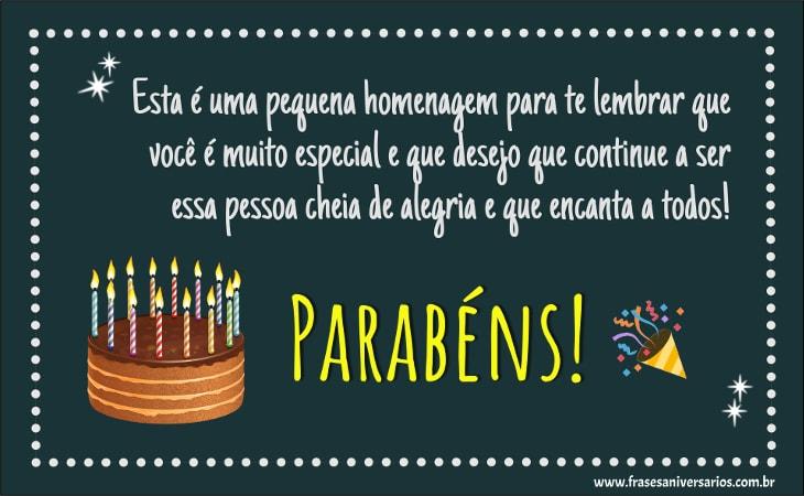 Frases De Aniversário Frases De Feliz Aniversário